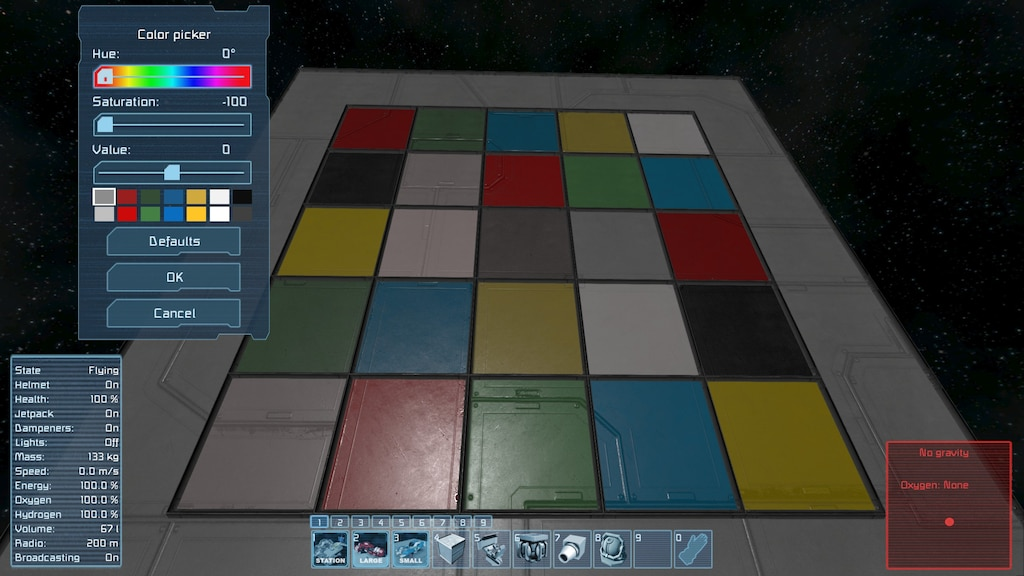 space engineers tone mapping