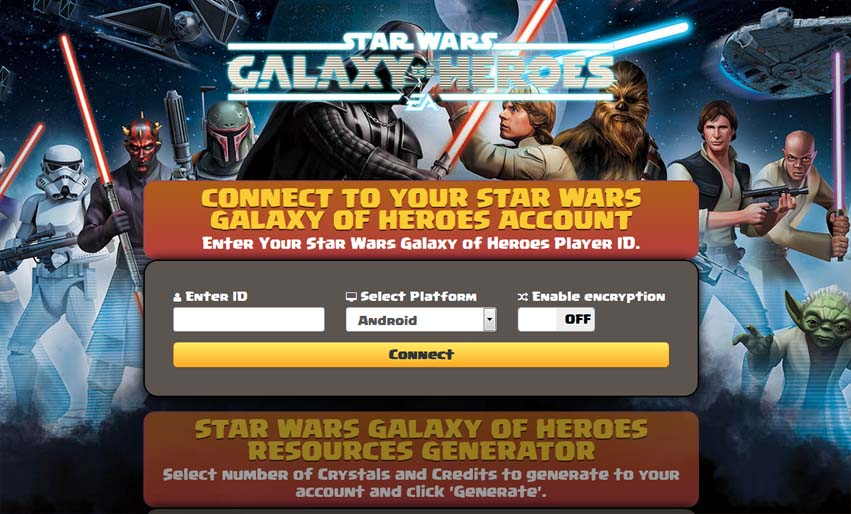 Steam Community :: :: Star Wars Galaxy of Heroes Hack Cheat Tool