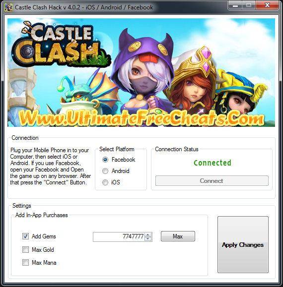 castle clash cheats for gems