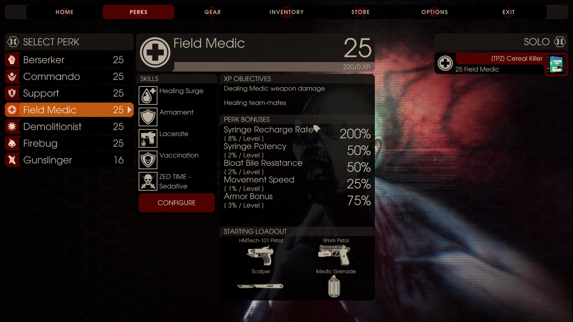 In Killing Floor 2 The Field Medic Is Now A Much Needed Class On The Server,  Without The Field Medic Your Team Is Going To Surely Die U0026 Very Fast.