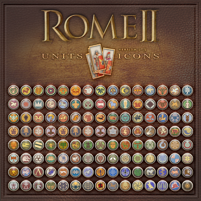 Normal's Rome II Units Icons mod v2.3