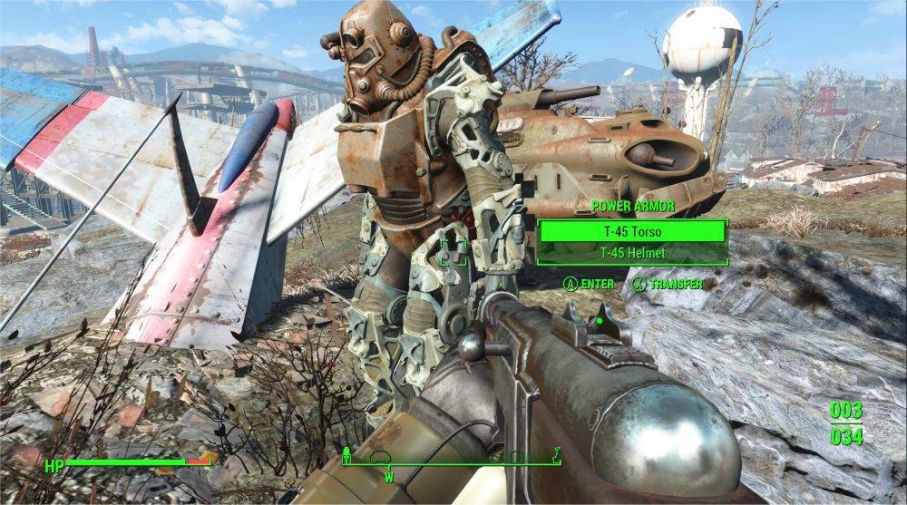 fallout 4 где найти части силовой брони