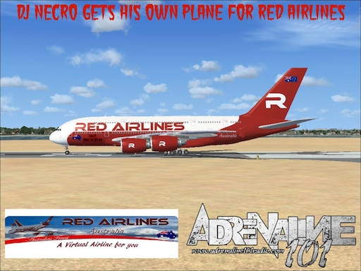 Steam Community :: :: DJ Necro  Pilot for Red Airlines