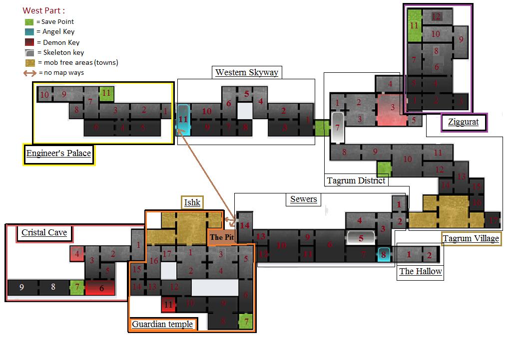 Steam Community :: Guide :: Partial Map (Spoiler allert)