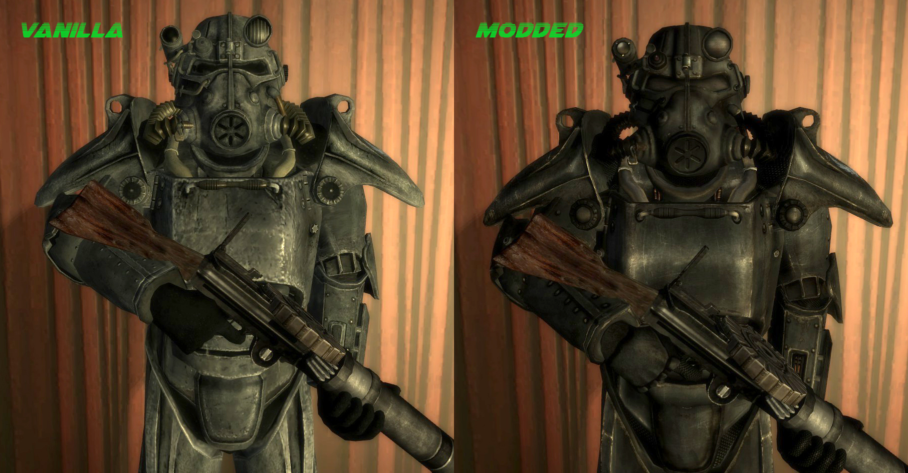 how to build power armor in real life
