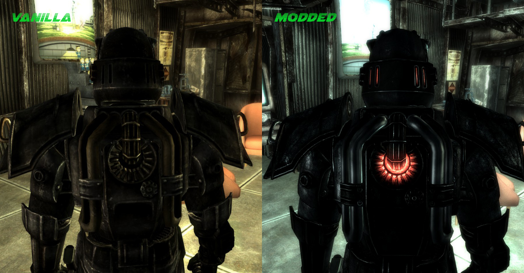 Steam Community :: Guide :: Power Armor Immersion Mods List