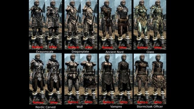 Steam Workshop :: Practical Female Armors