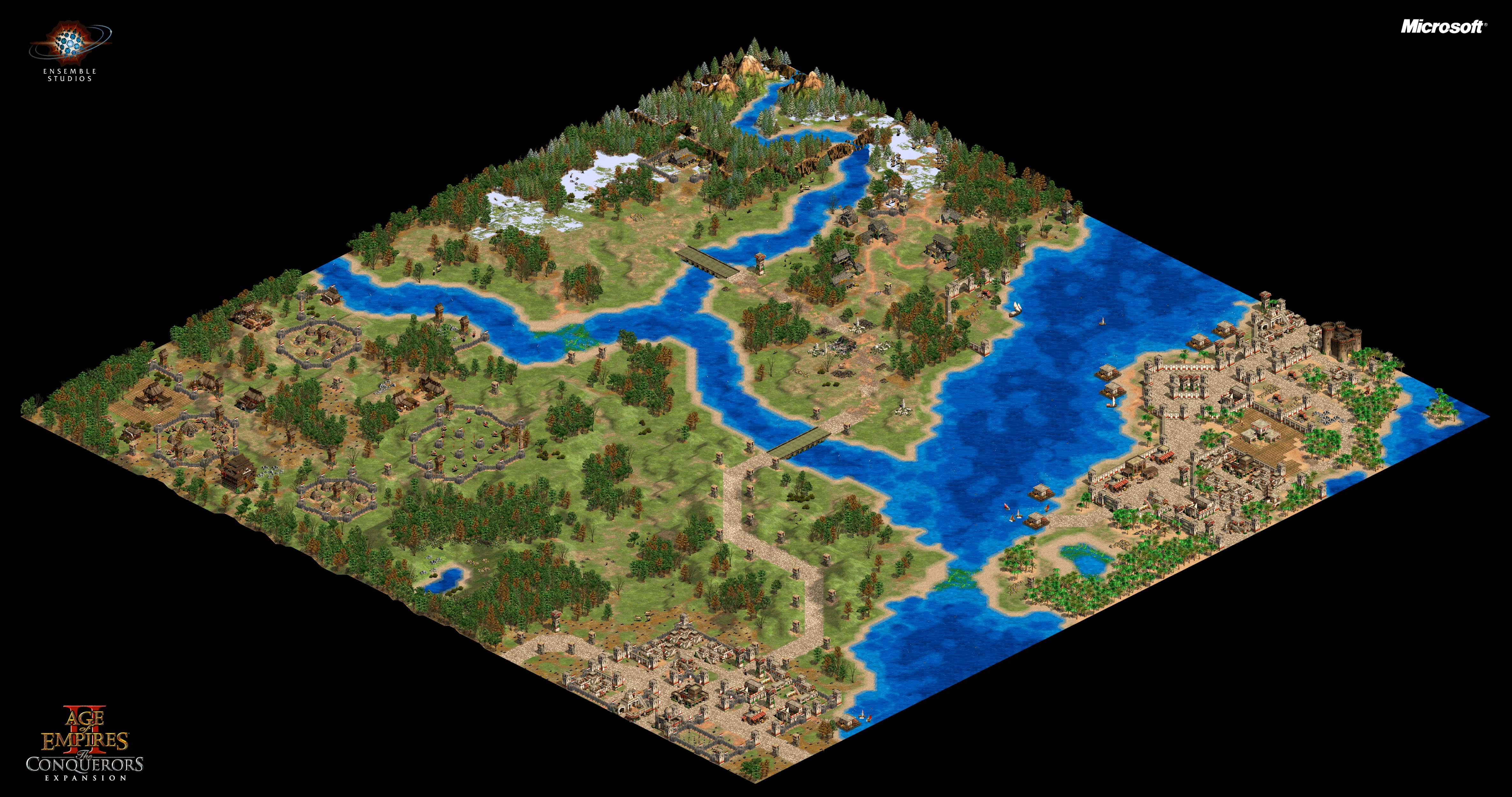 Steam Community :: Guide :: The Conquerors Campaign Maps