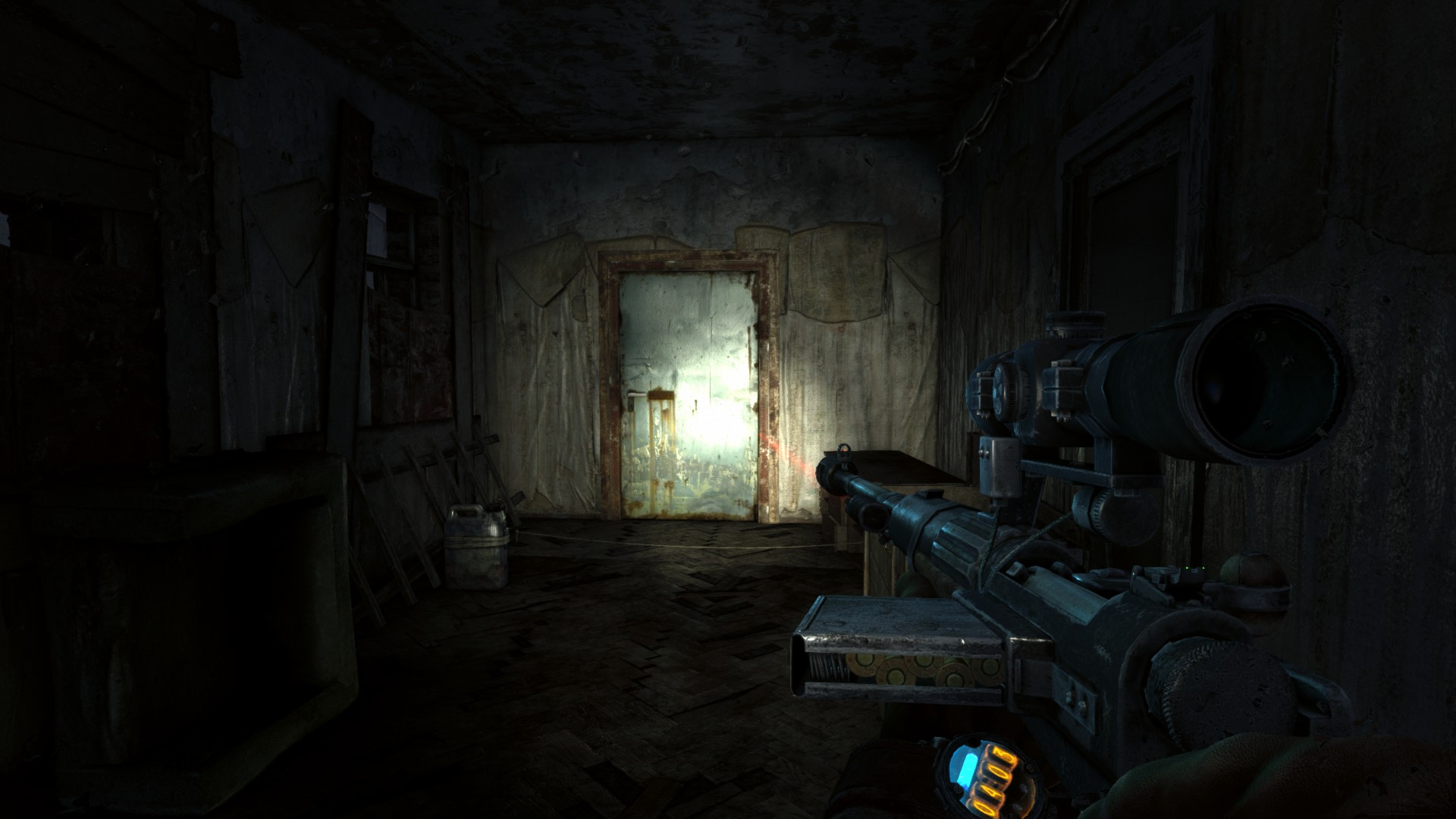Steam Community Guide Metro Last Light Redux Full Walkthrough On The Circuit And As You Can See There Is Only One Wire Clime Up This Building Will Hear Anna Radio Behind A