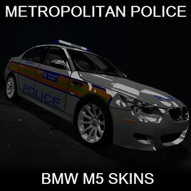 Steam Workshop :: BMW M5 Metropolitan Police Skins
