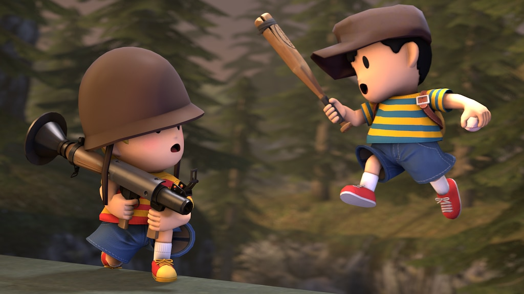 Steam Community :: :: Lucas Soldier, Ness Scout