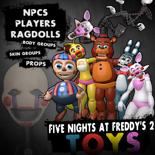 Steam Workshop :: Five Nights at Freddy's 2 Toys