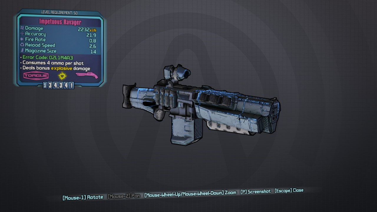 Any Cool Glitch Weapon Finds Bl Tps Discussion The Official