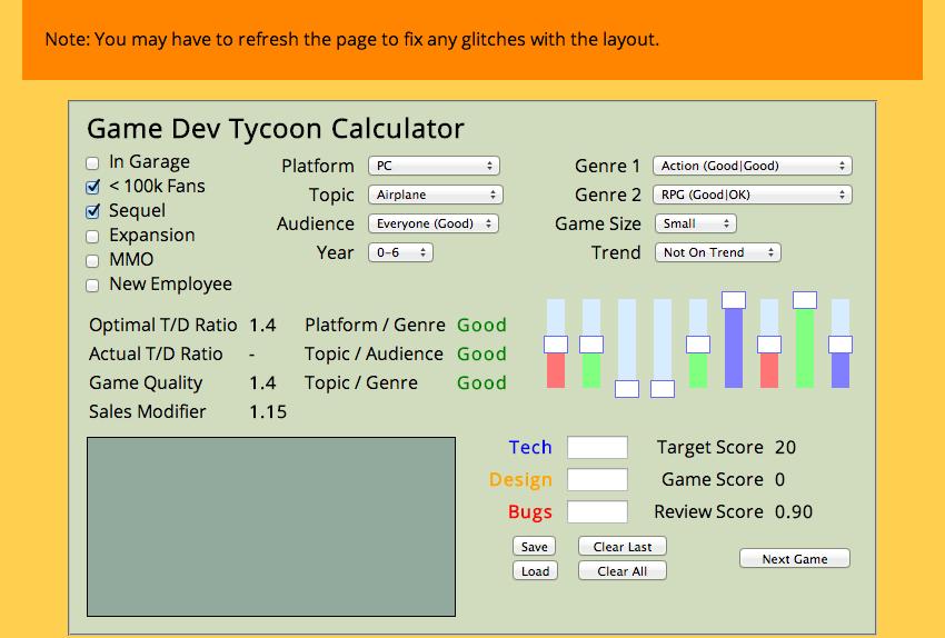 Steam Community :: Guide :: <b>Game Dev Tycoon</b> Tools