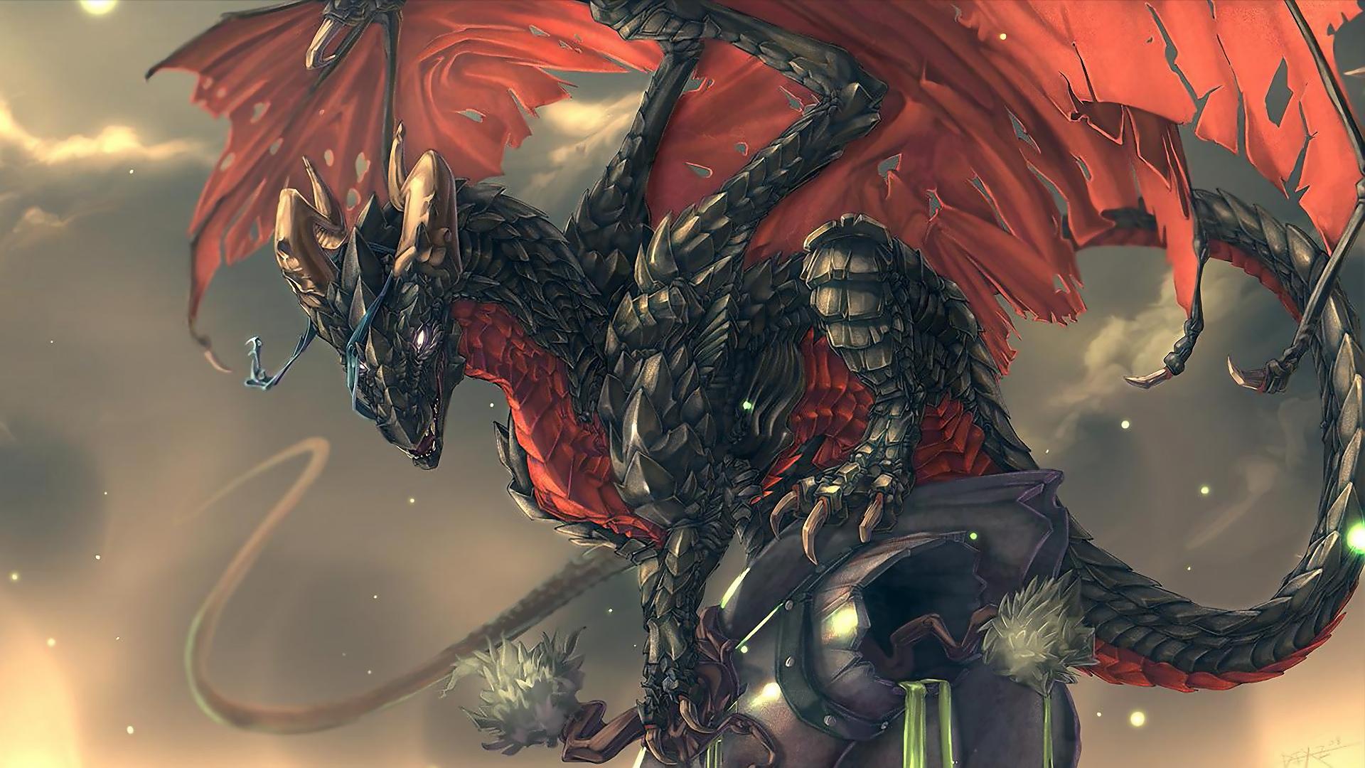 Black Dragon Wallpaper Hd Artistic Joyful