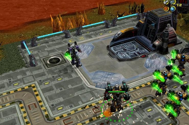 Онлайн стратегия с роботами рпг игры лучшее онлайн бесплатно