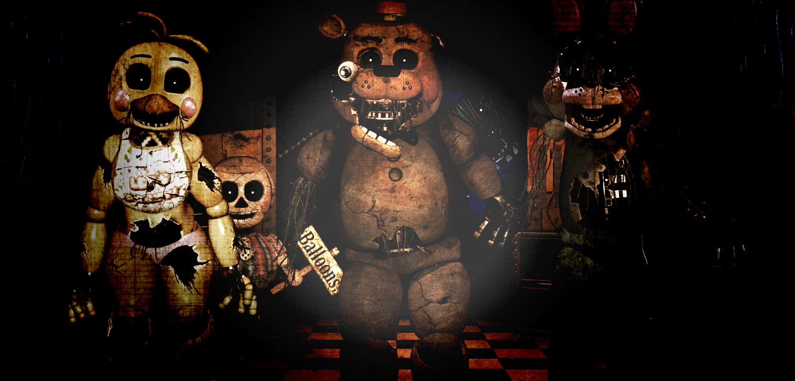 Steam Workshop :: Five nights at freddy's: The whole package