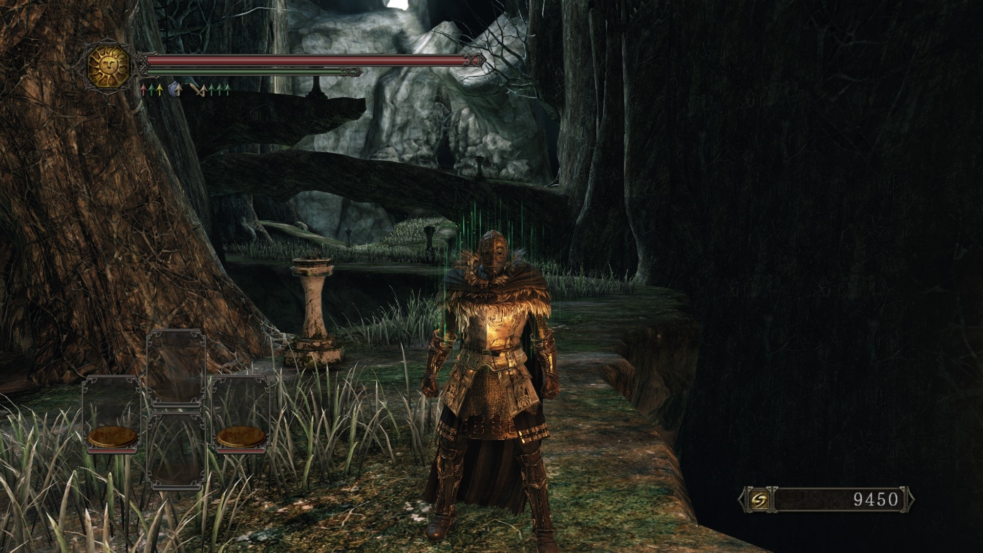 this guide will help you to find estus flask shards and sublime bone