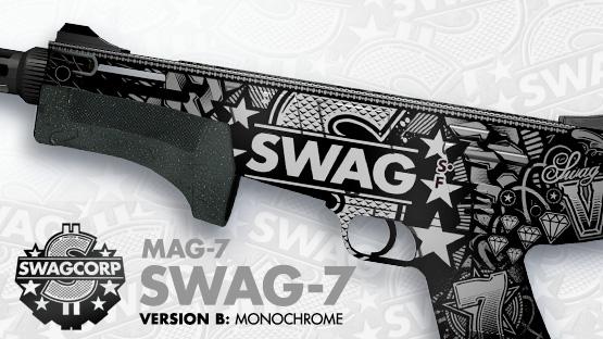 Steam Workshop Mag 7 Swag 7 Monochrome