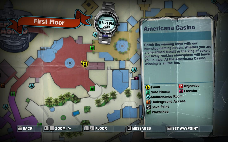 dead rising 2 map