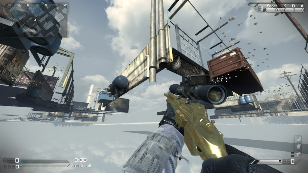 Steam Community :: Screenshot :: under the map on cod ghosts lol