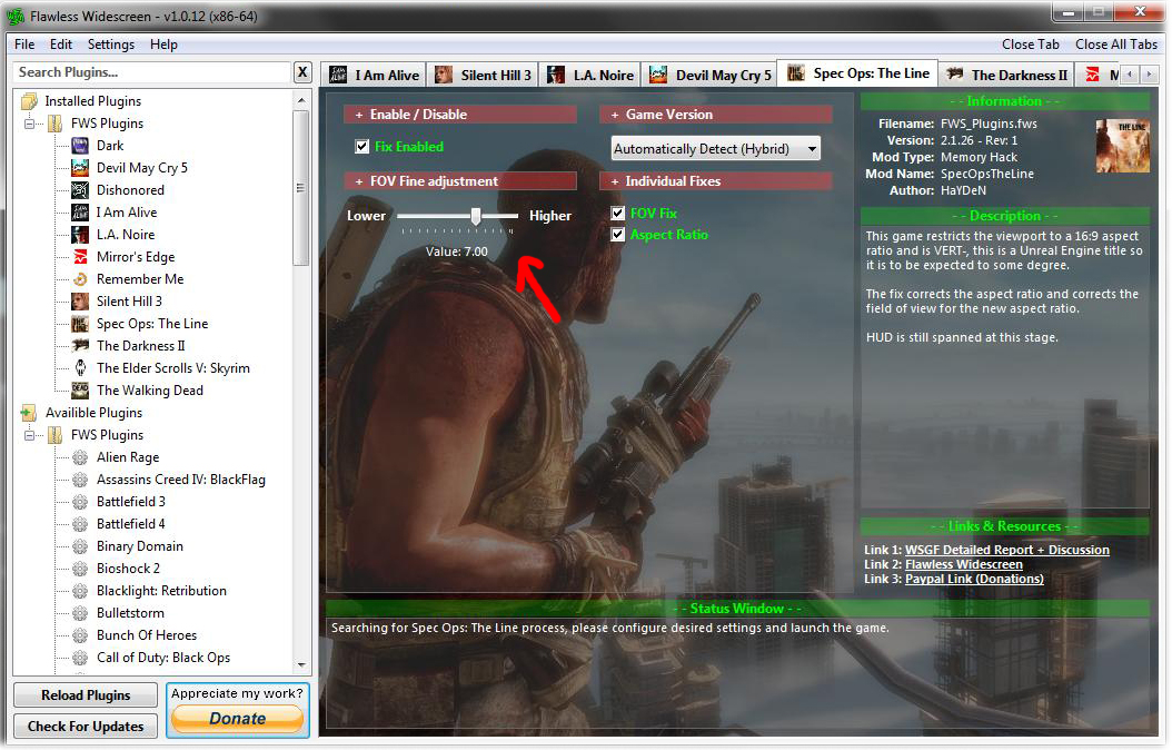 Steam Community :: Guide :: Spec Ops: The Line FOV fix