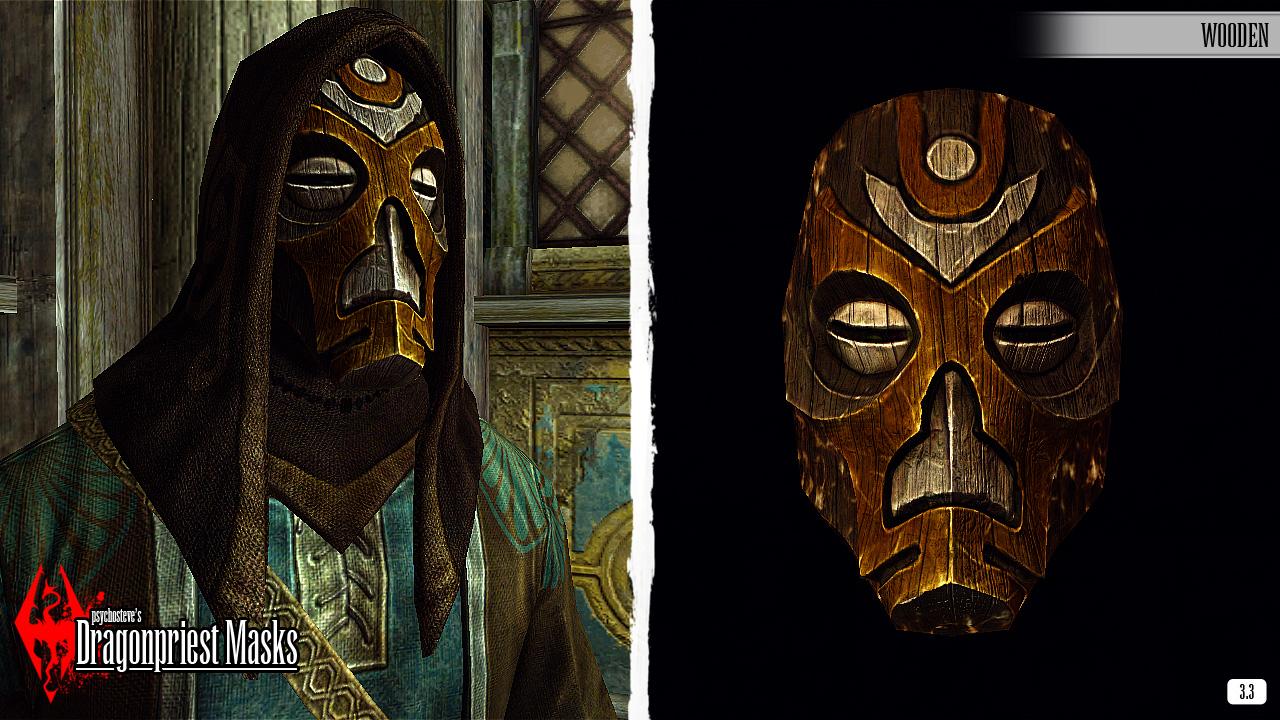 Steam Workshop :: Psychosteve's DragonPriest Masks - Dragonborn Edition