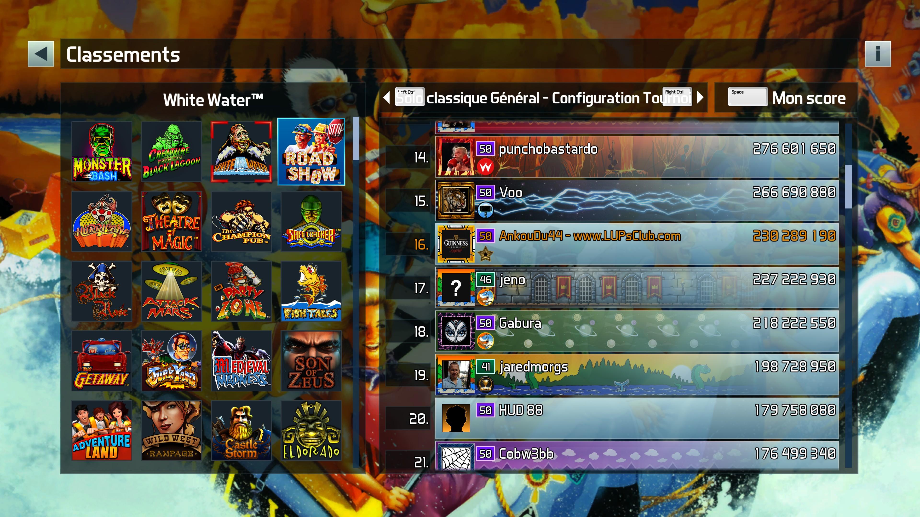 Williams Pinball : Les records du LUP's Club en mode Classique (arcade et tournoi) - Page 5 EF4662C5846FC19CB4EFDFED3E5FA92737C6FE24