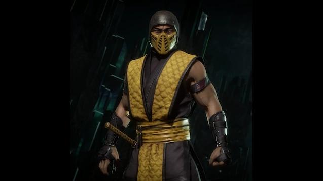 Steam Workshop Mortal Kombat 11 Klassic Scorpion