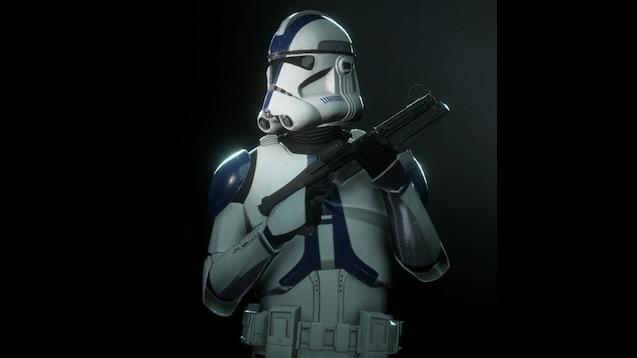 Steam Workshop Star Wars Battlefront Ii 501st Clone Trooper