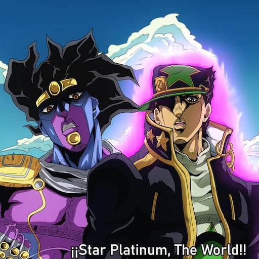 Steam Workshop Jotaro Kujo And Star Platinum Part 6 4k Version