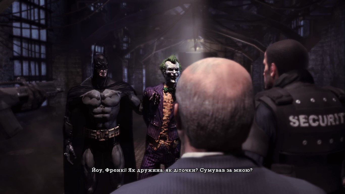 Українська локалізація Batman: Arkham Asylum Game of the Year Edition
