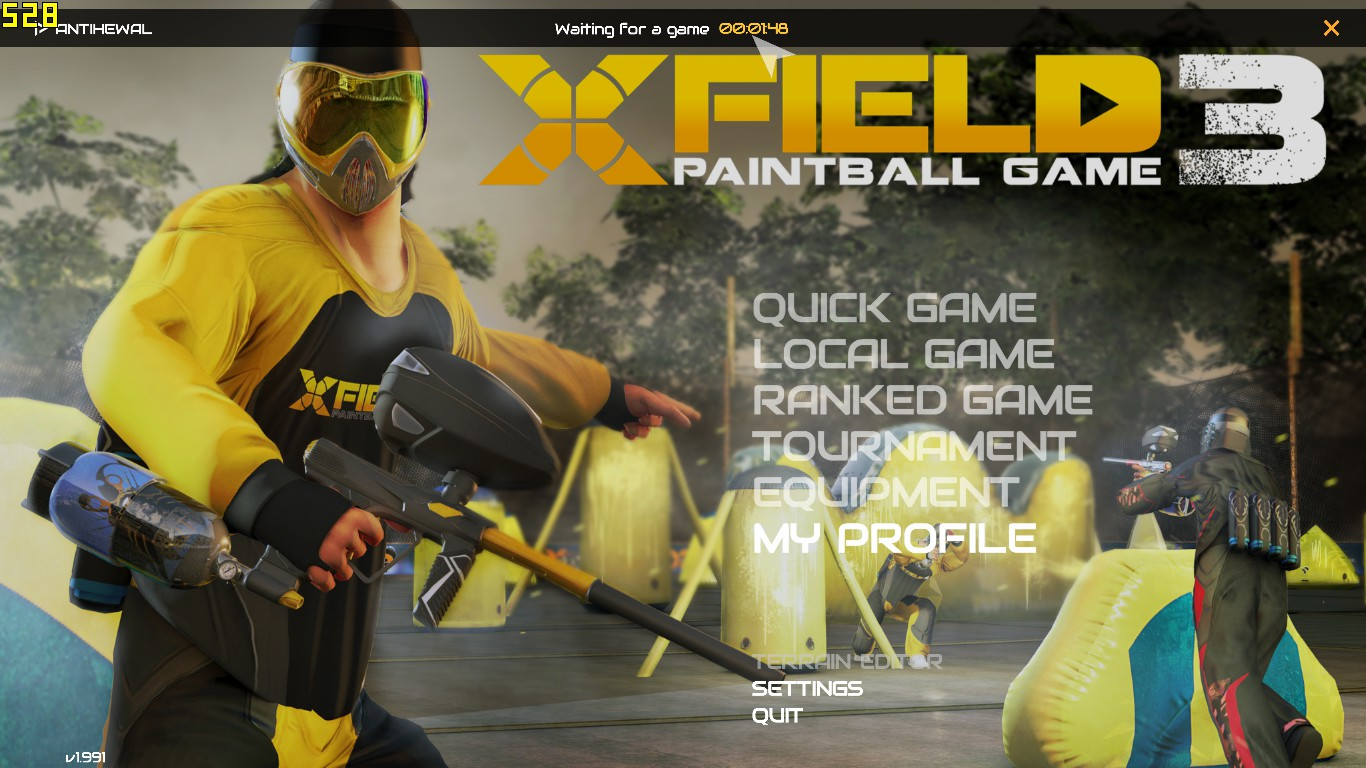Xfield 3 paintball