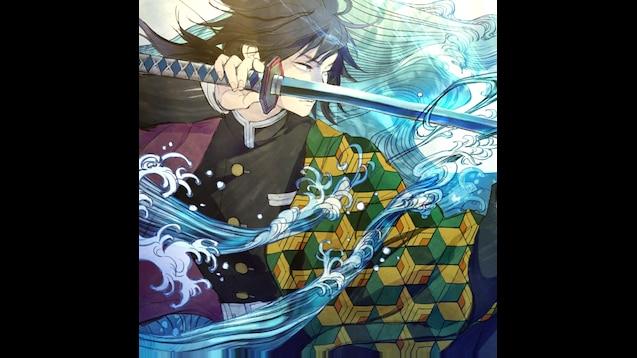 Steam Workshop Giyuu Tomioka Kimetsu No Yaiba Demon Slayer