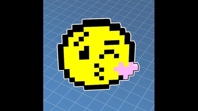 Steam Workshop Smiley Pixel Art 2