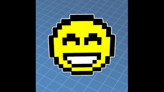 Steam Workshop Smiley Pixel Art 3