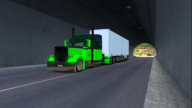 Custom Green Peterbilts