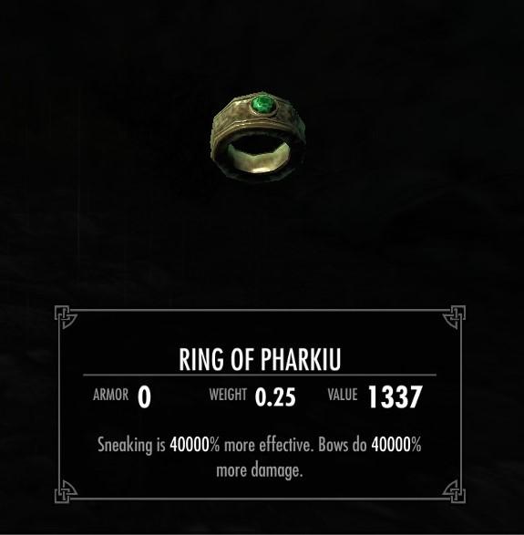 The Ring of Pharkiu画像