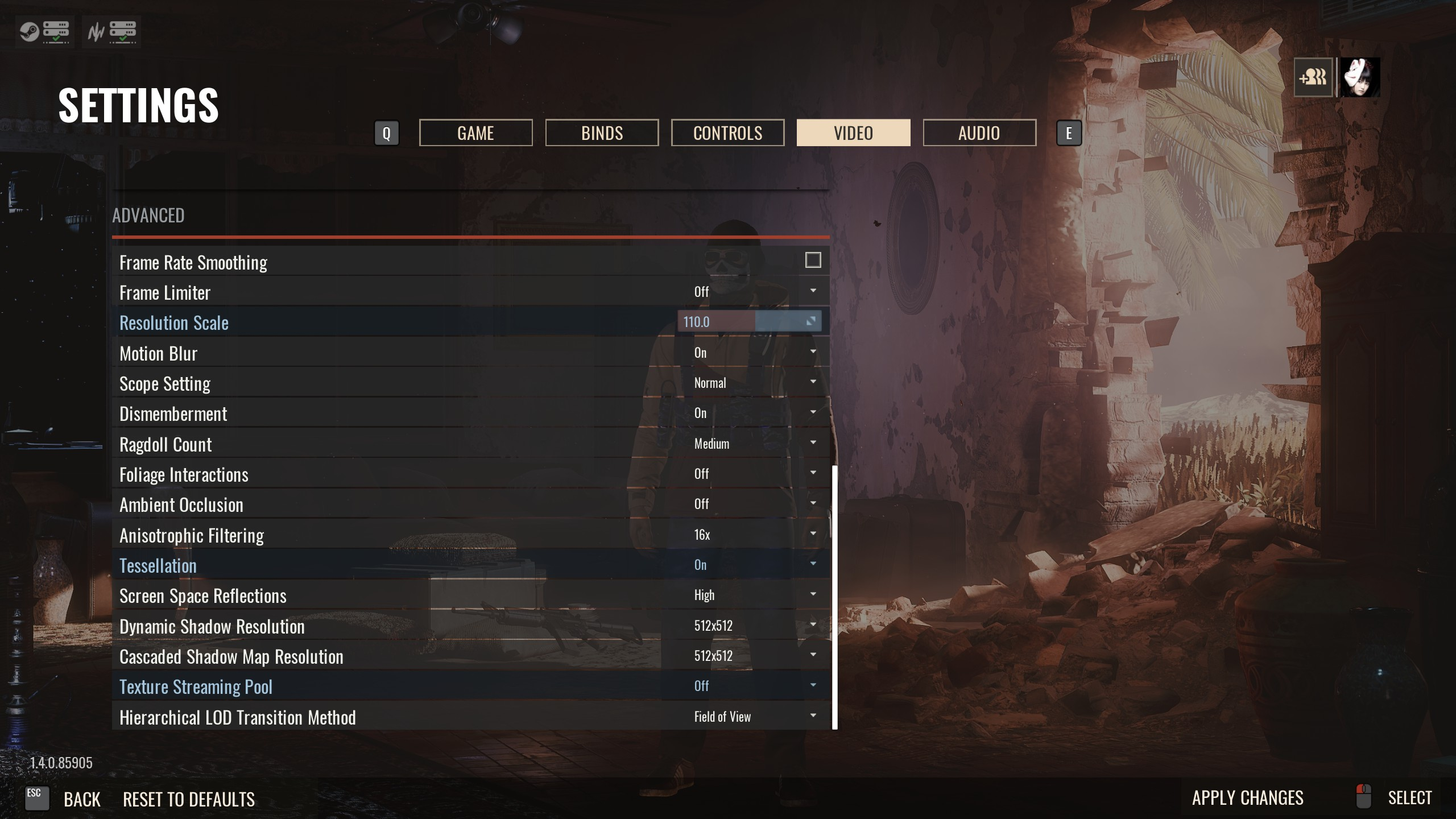 Under  PUT Resolution Scale to 105~120 i use 110. Upping the resolution scale actually utilize your GPU better. This works for other games like BFV, when you up your resolution scale a bit, you actually get higher framerates.