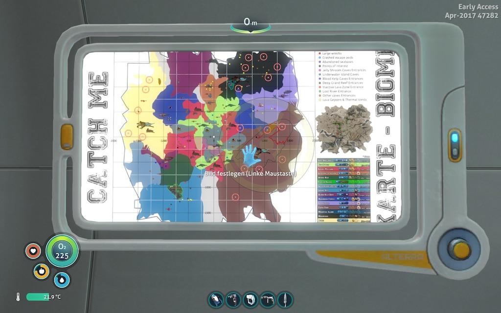 Subnautica Karte.Steam Community Screenshot Persönliches Kartenmaterial
