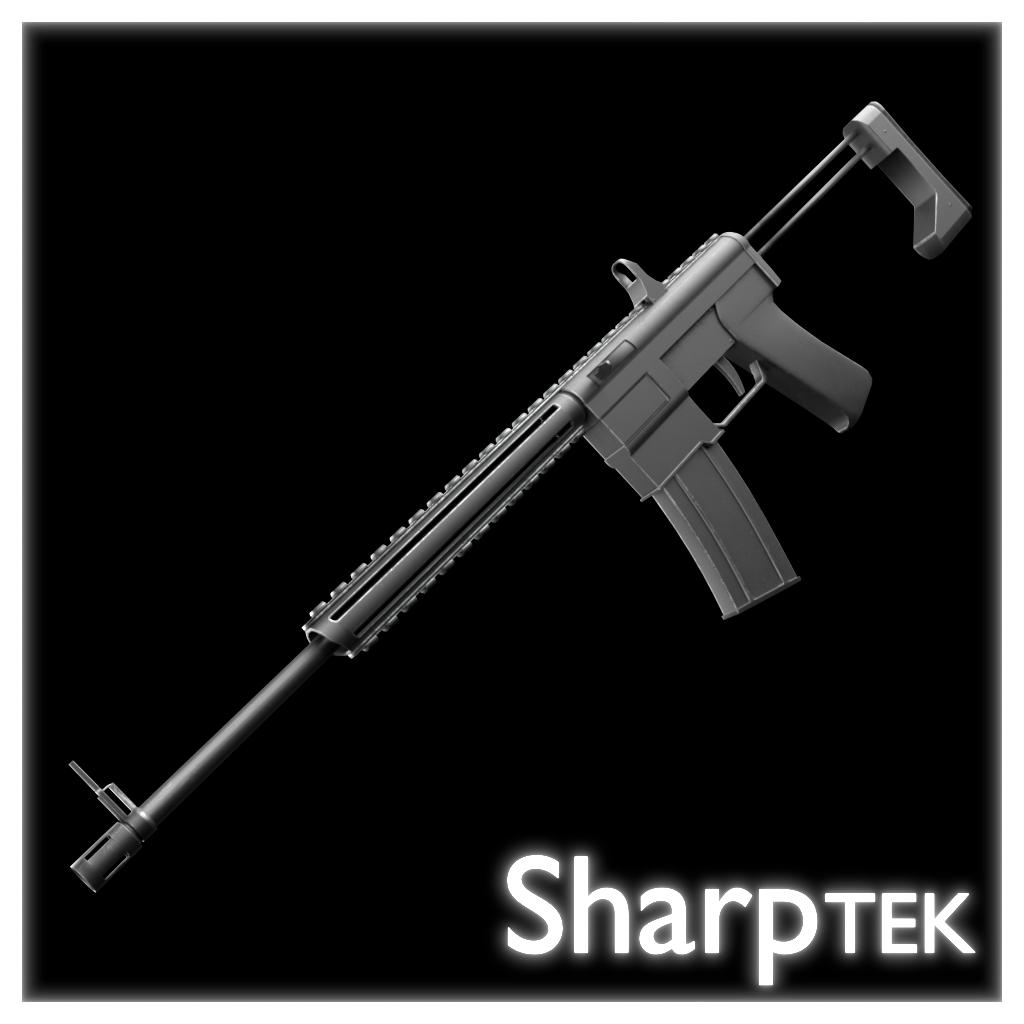 Automatic Tranq Rifle
