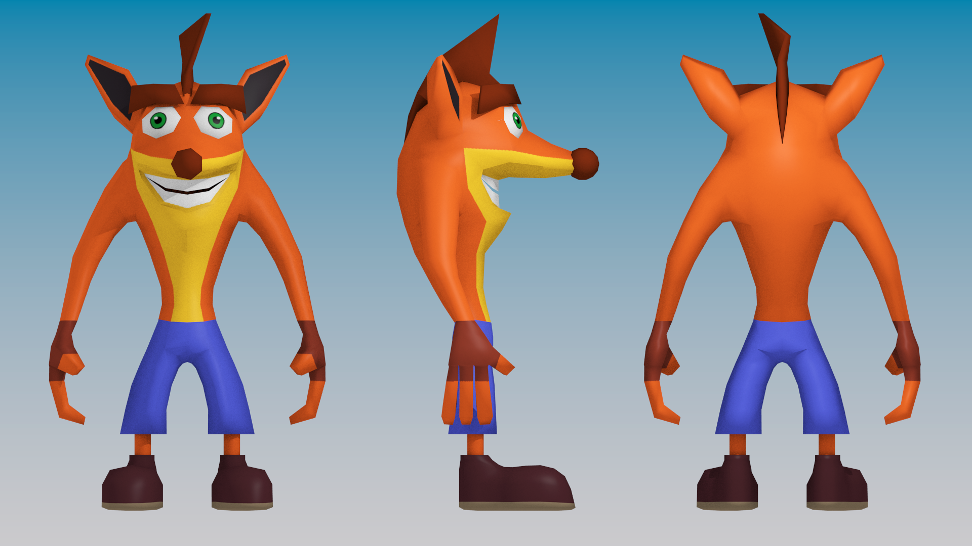 Steam community crash bandicoot 3d model download malvernweather Gallery