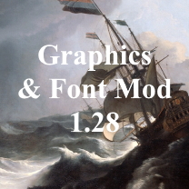 Graphics and Font Mod 1.28
