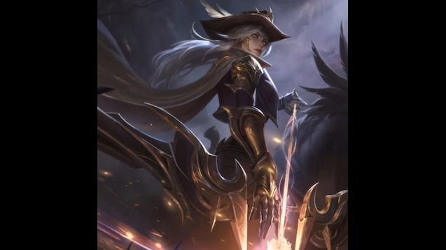Steam Workshop High Noon Ashe Animated League Of Legends