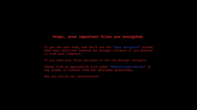 Steam Workshop :: WannaCry Ransomware Wallpaper [1080p]