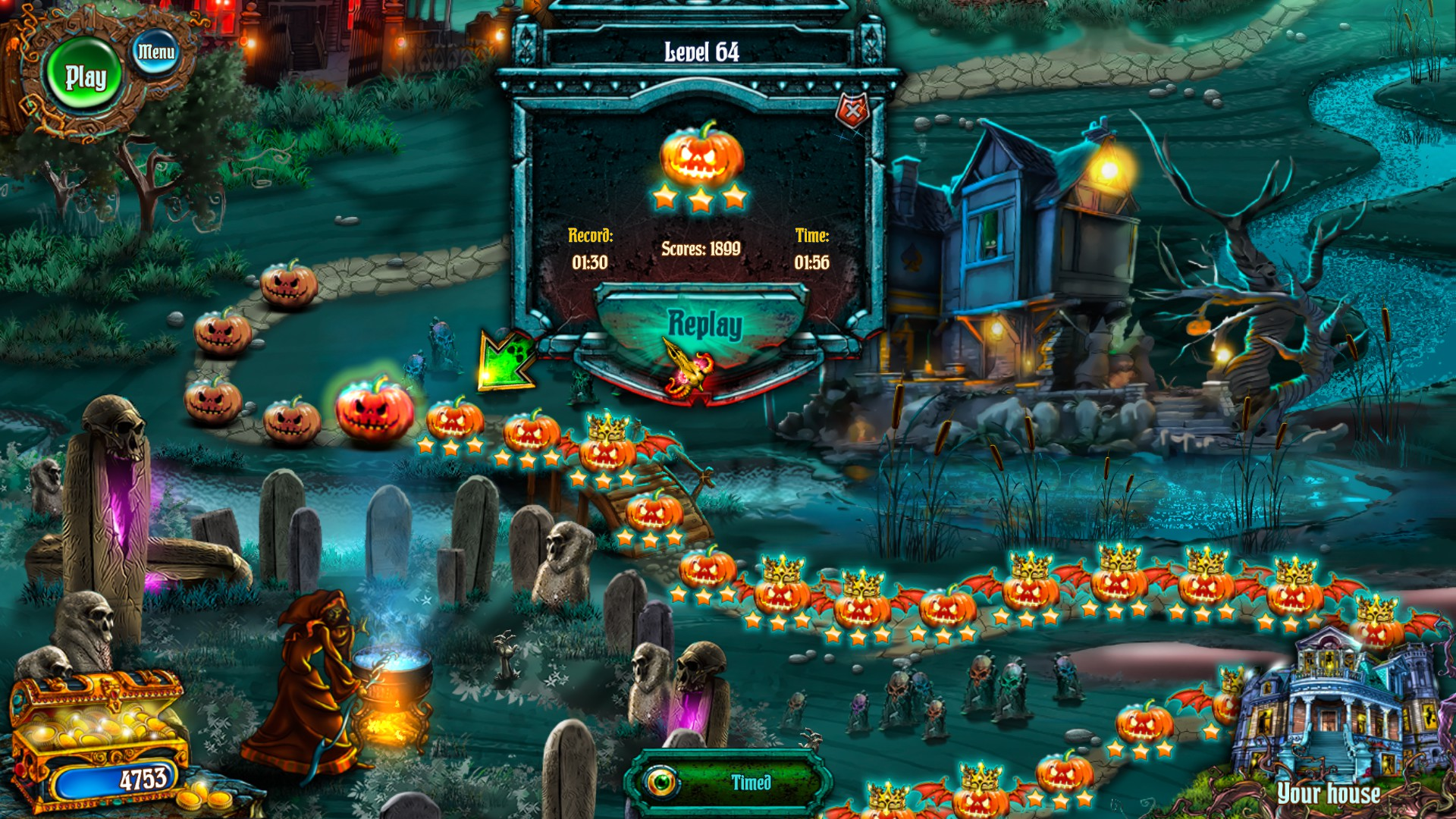 Save Halloween 1: City of Witches 365BA167A6DDFE50AA69A970B25CDAEBAD9637DA