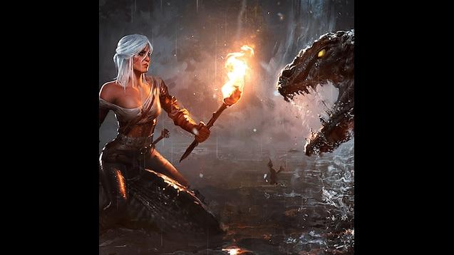 Steam Workshop The Witcher 3 Ciri Wallpaper