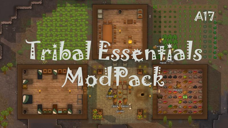 Tribal Essentials Modpack