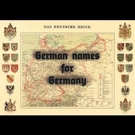 Steam Workshop :: German names for Germany