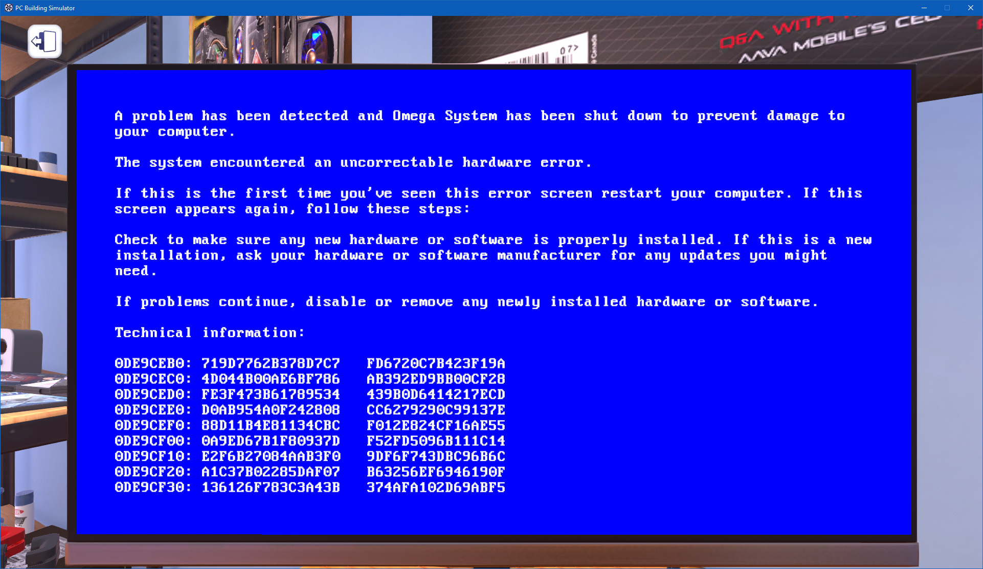 Attempt to reset the display driver and recover …